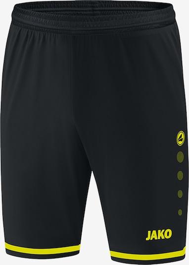 JAKO Hose in gelb / schwarz, Produktansicht