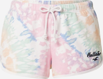 HOLLISTER Trousers in Light blue / Light green / Pink / Off white, Item view