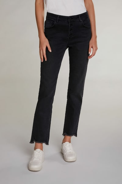 OUI Jeans in dunkelgrau, Modelansicht