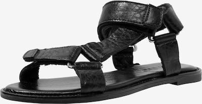 INUOVO Sandalen in schwarz: Frontalansicht