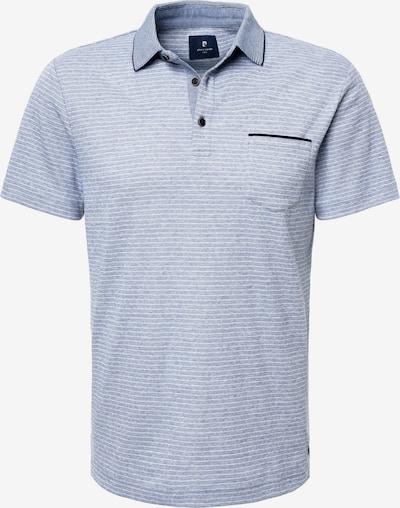 PIERRE CARDIN Poloshirt in navy / hellblau / weiß, Produktansicht