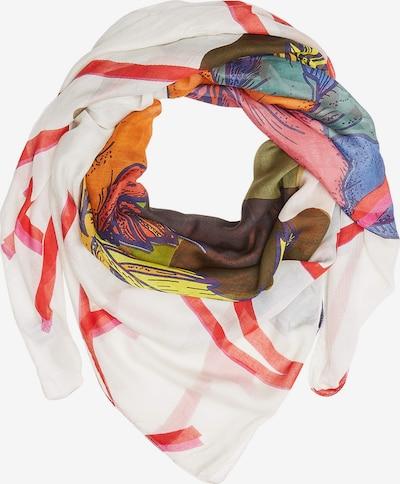 CAMEL ACTIVE Schal in mischfarben / weiß, Produktansicht