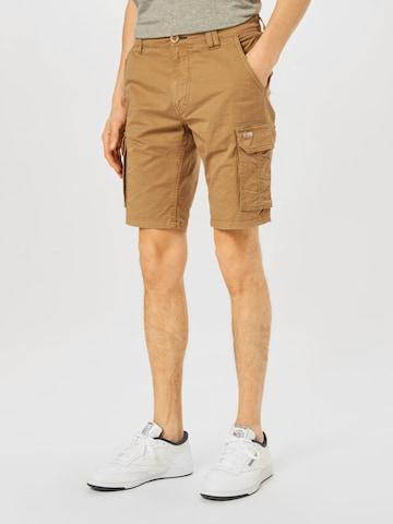 BLEND Klapptaskutega püksid, värv beež