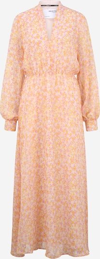 Selected Femme Tall Dress 'Jeanie' in Mauve / Orange / natural white, Item view