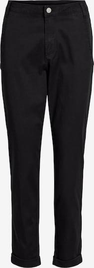 Pantaloni eleganți 'VICHINO RWRE 7/8 NEW PANT' VILA pe negru, Vizualizare produs