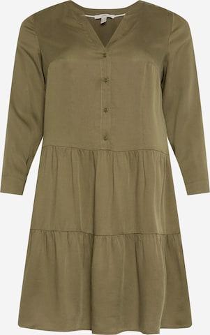 Robe-chemise Esprit Curves en vert