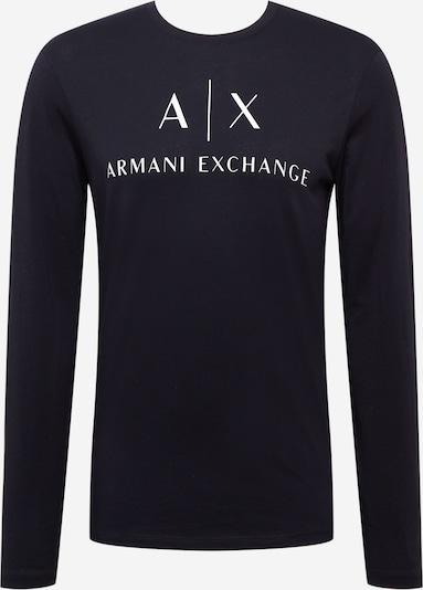 ARMANI EXCHANGE Majica u mornarsko plava / bijela, Pregled proizvoda