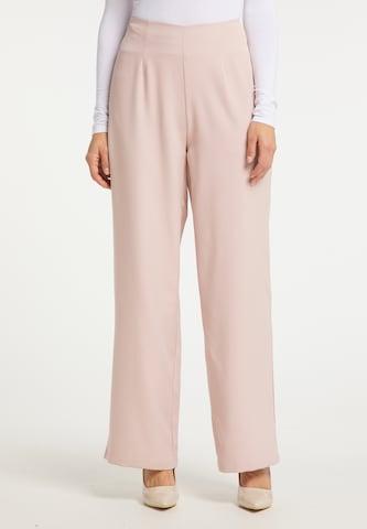 usha BLACK LABEL Παντελόνι σε ροζ