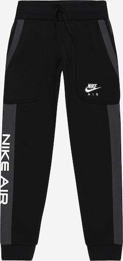 Nike Sportswear Hose in grau / schwarz / weiß, Produktansicht