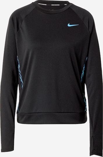 NIKE Bluzka sportowa 'Icon Clash' w kolorze aqua / czarnym, Podgląd produktu