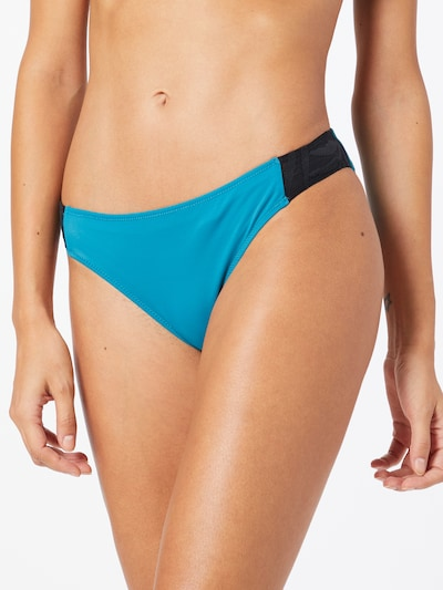 ROXY Bikinihose 'FITNESS' in nachtblau / himmelblau, Modelansicht