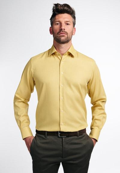 ETERNA Hemd in gelb: Frontalansicht