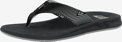 REEF Strand-/badschoen 'Phantom II' in de kleur Zwart / Wit, Productweergave