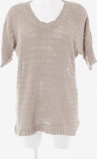 H&M Kurzarmpullover in M in beige, Produktansicht