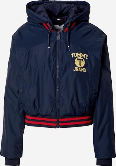 Tommy Jeans Jacke in navy / gelb / hellrot, Produktansicht