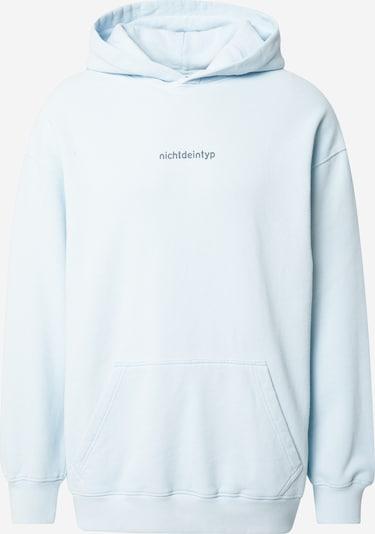 ABOUT YOU Limited Sweatshirt 'Len' nichtdeintyp by Marvin Game in hellblau / dunkelgrau, Produktansicht
