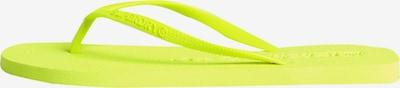 Superdry Zehentrenner in neongelb, Produktansicht