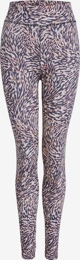 SET Leggings in marine / altrosa / weiß, Produktansicht