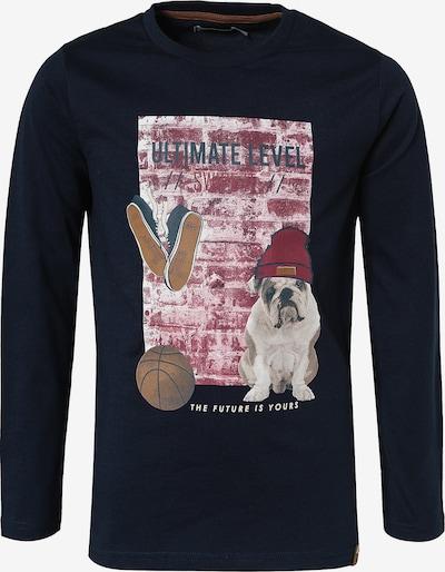 MINYMO Shirt in dunkelblau / mischfarben, Produktansicht