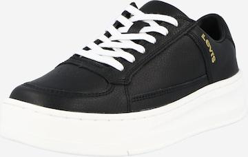 LEVI'S Sneaker low 'SILVERWOOD' i svart
