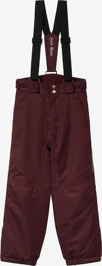 NAME IT Functionele broek 'Snow10' in de kleur Bordeaux, Productweergave