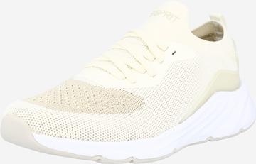 Sneaker low 'Liverpool' de la ESPRIT pe alb