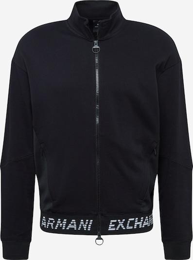 ARMANI EXCHANGE Sweatjacke in schwarz, Produktansicht