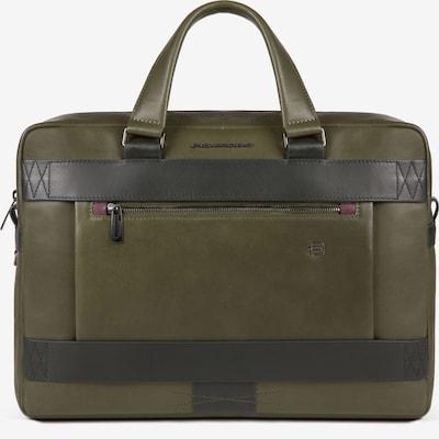 Piquadro Laptop Bag 'Obidos' in Brown / Olive, Item view