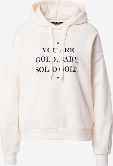 SET Sweatshirt in black / wool white, Item view