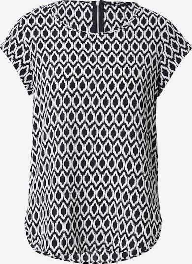 ONLY Bluse in schwarz / weiß, Produktansicht