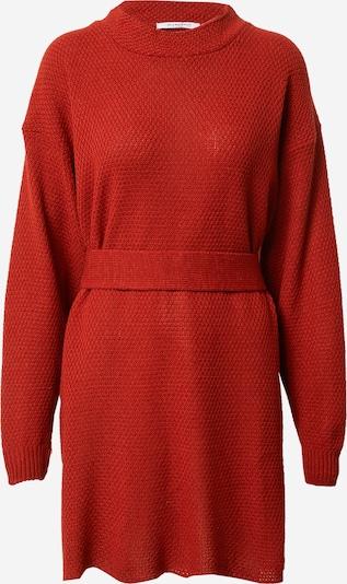 GLAMOROUS Robes en maille en rouge, Vue avec produit