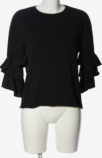 VERO MODA Cropped Shirt in S in schwarz, Produktansicht