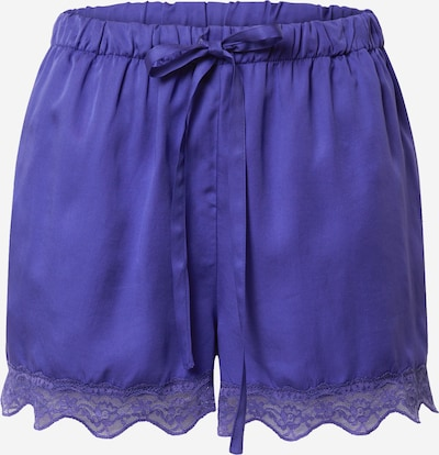 Underprotection Pajama pants 'Carry' in Dark purple, Item view