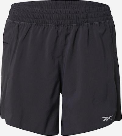 Reebok Sport Sportshorts in grau / schwarz, Produktansicht