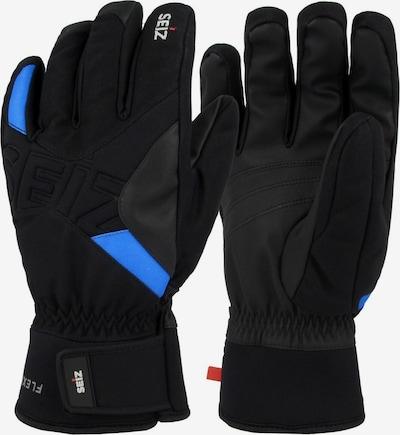 Seiz Handschuhe in blau / schwarz, Produktansicht