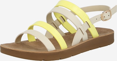 CALL IT SPRING Strap sandal 'POWERR' in Beige / Yellow, Item view