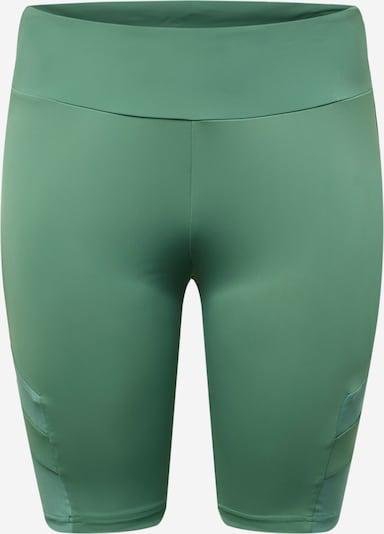 Tamprės iš Urban Classics Curvy, spalva – žalia, Prekių apžvalga