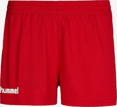 Hummel Sportbroek in de kleur Rood / Wit, Productweergave