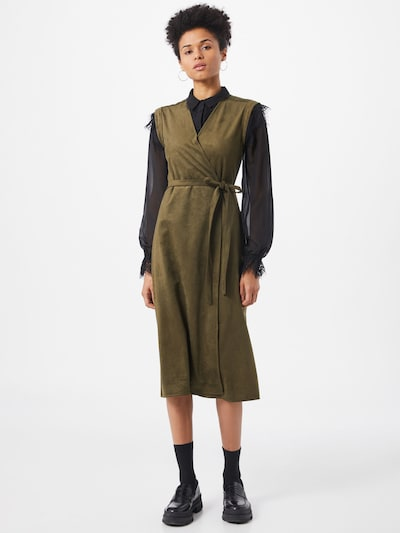 Banana Republic Kleid in khaki, Modelansicht