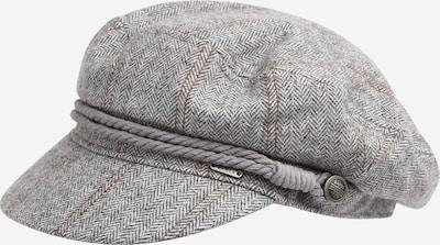 Barts Mütze 'Skipper' in braun / grau / weiß, Produktansicht