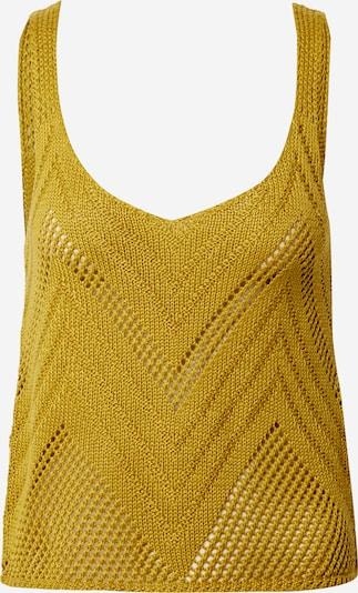 JDY Tops en tricot en jaune, Vue avec produit