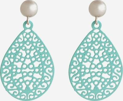 Gemshine Boucles d'oreilles en turquoise / or, Vue avec produit
