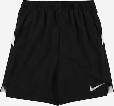 NIKE Športové nohavice - čierna / biela, Produkt
