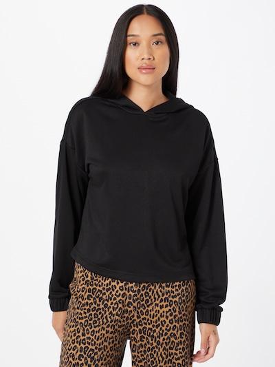 Urban Classics Sweatshirt in Black: Frontal view