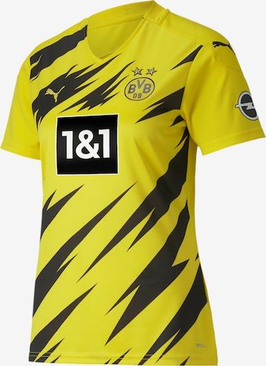 PUMA Trikot in gelb / schwarz: Frontalansicht