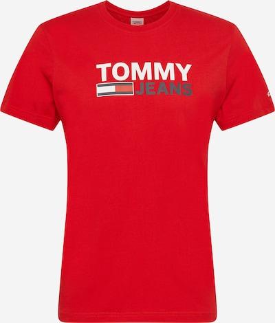 Tommy Jeans Majica | mornarska / rdeča / bela barva, Prikaz izdelka