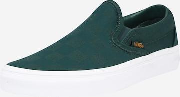 VANS Спортни обувки Slip On 'UA Classic Slip-On' в зелено