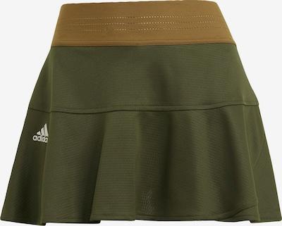 ADIDAS PERFORMANCE Sportrok in de kleur Bruin / Kaki, Productweergave