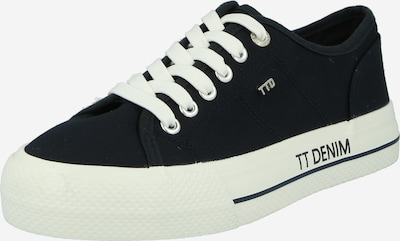 TOM TAILOR DENIM Shoes schlichter Sneaker in dunkelblau, Produktansicht