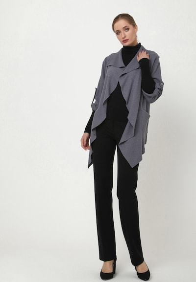 Madam-T Blazer 'FUGA' in grau, Modelansicht